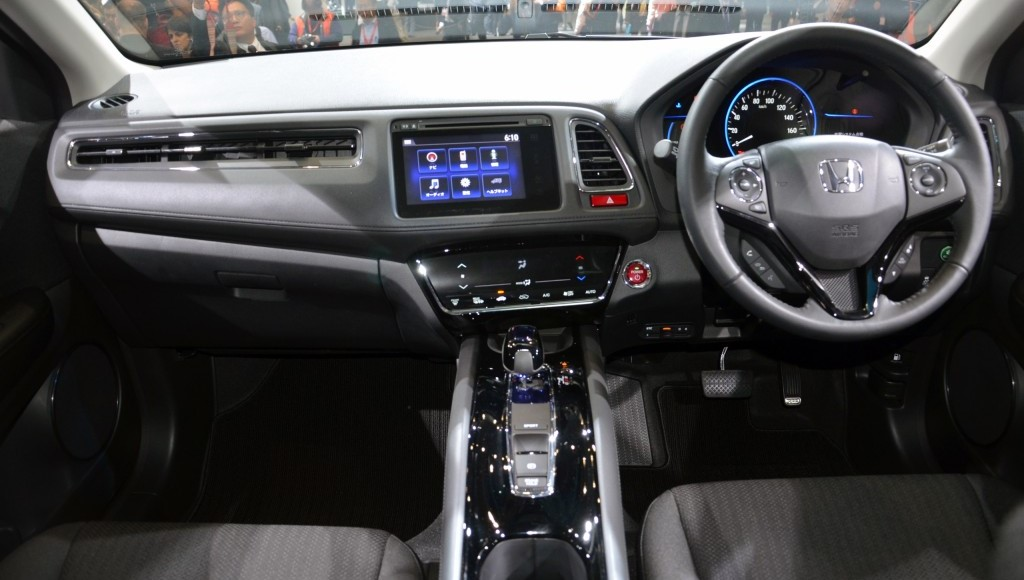 Honda Vezel  Interior Dashboard