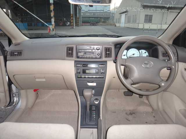 Toyota Corolla 2005 Interior Dashboard