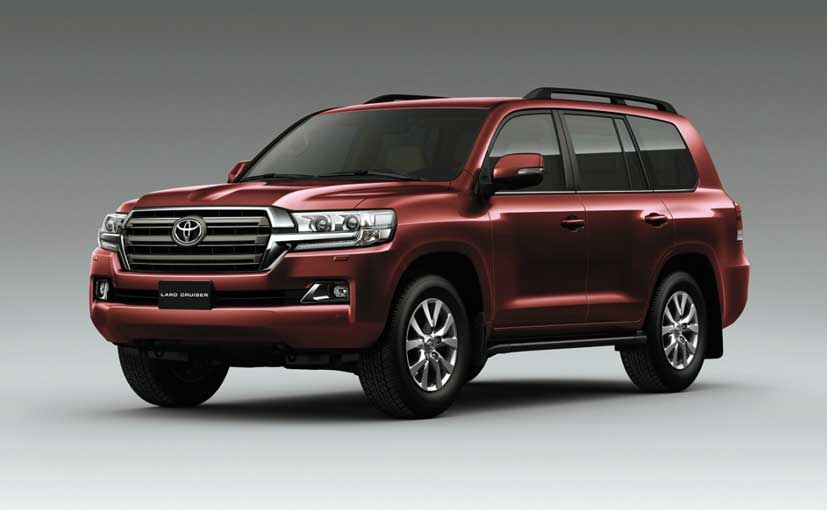Toyota Land Cruiser 2018 Exterior Front Side View