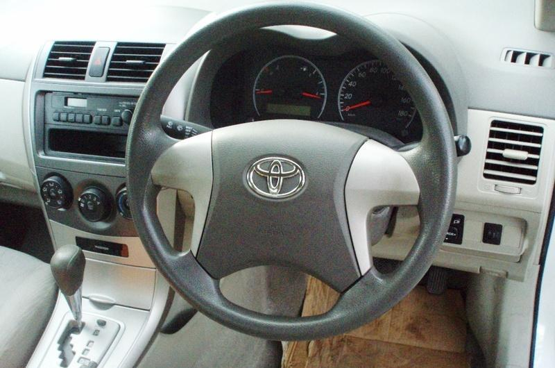 Toyota Corolla Axio 2012 Interior Steering Wheel