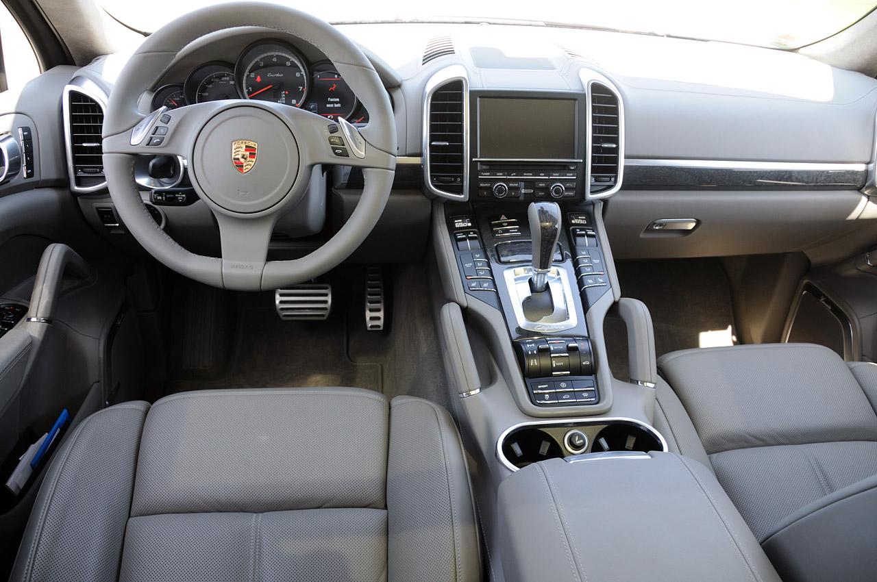 Porsche Cayenne 2018 Interior Dashboard