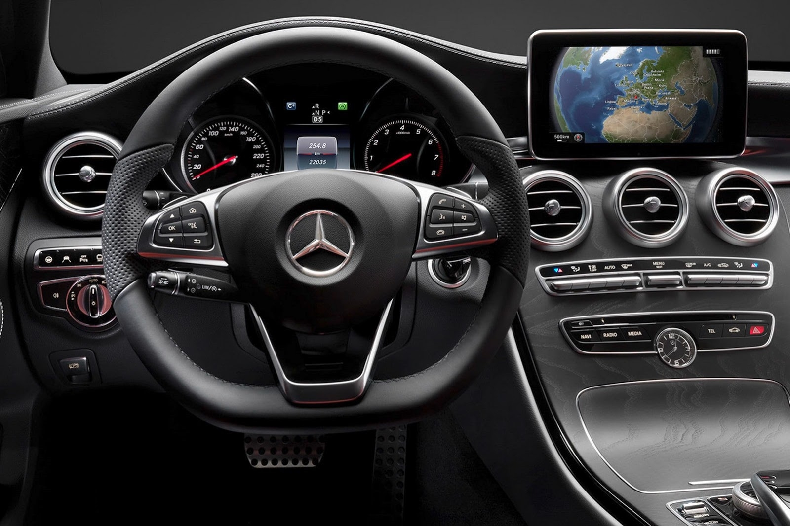 Mercedes Benz C Class 2019 Interior Dashboard