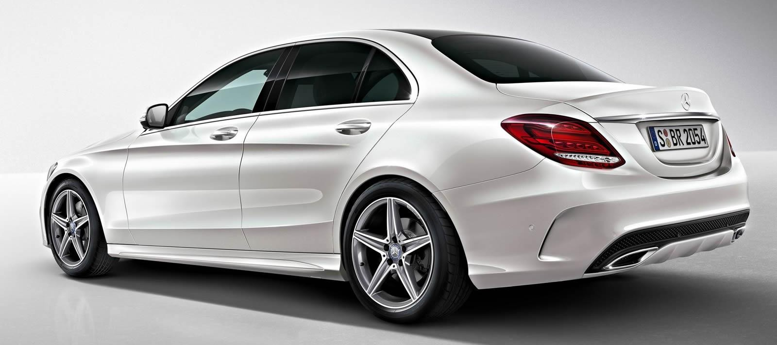 Mercedes Benz C Class 2017 Exterior Rear Side View