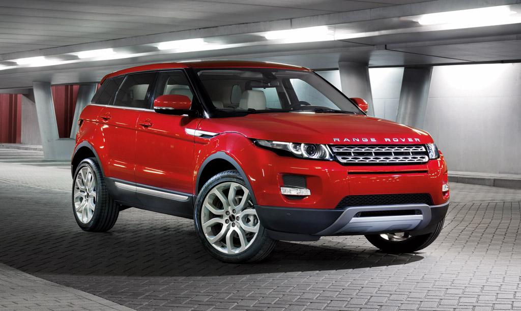 Range Rover Evoque  Exterior Front End