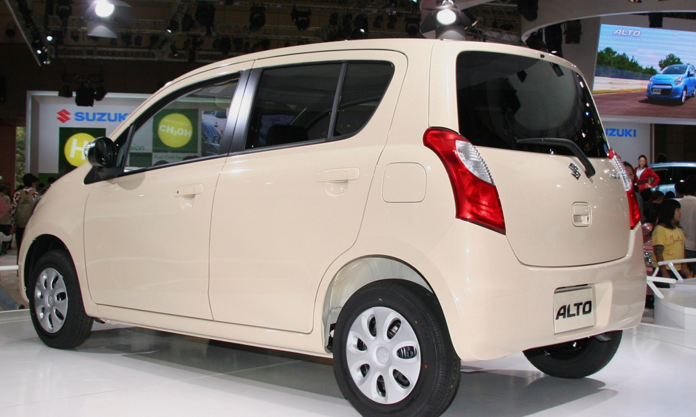 Suzuki Alto 2014 Exterior Rear End
