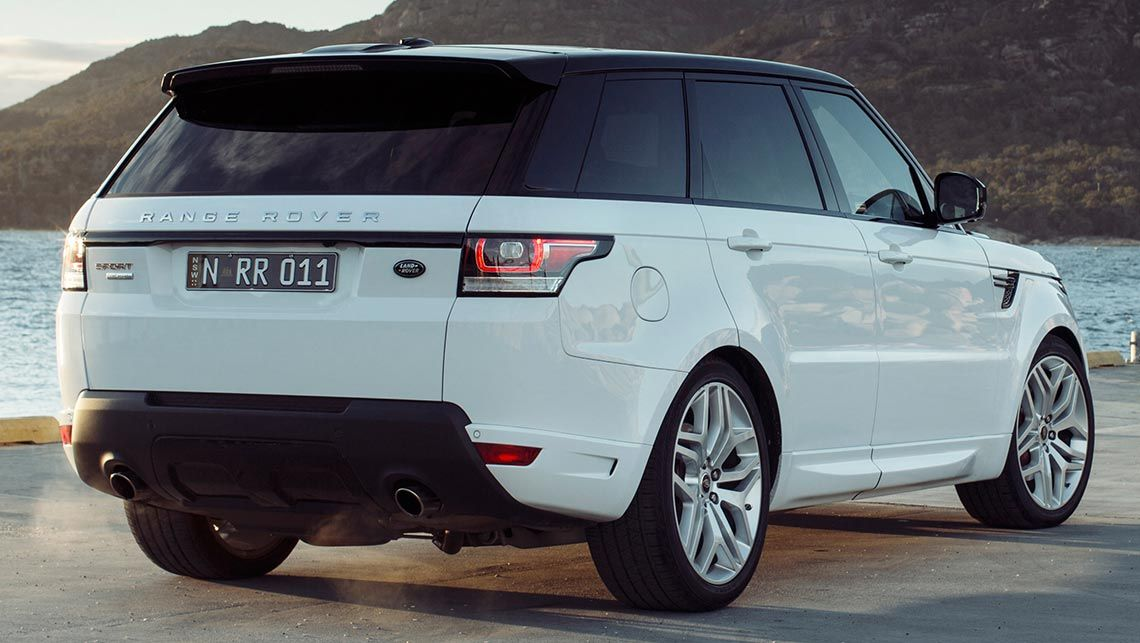 Range Rover Sport  Exterior Rear End