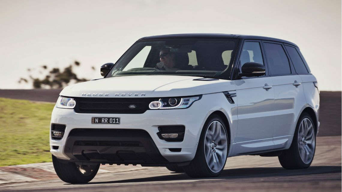 Range Rover Sport  Exterior Front Side View