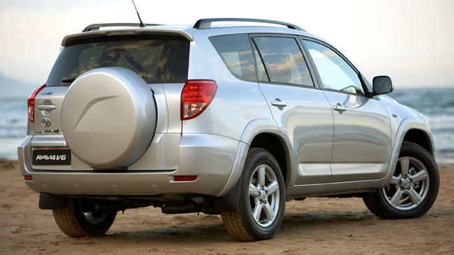 Toyota Rav4  Exterior Rear End
