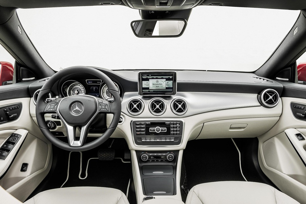 Mercedes Benz CLA Class  Interior Dashboard
