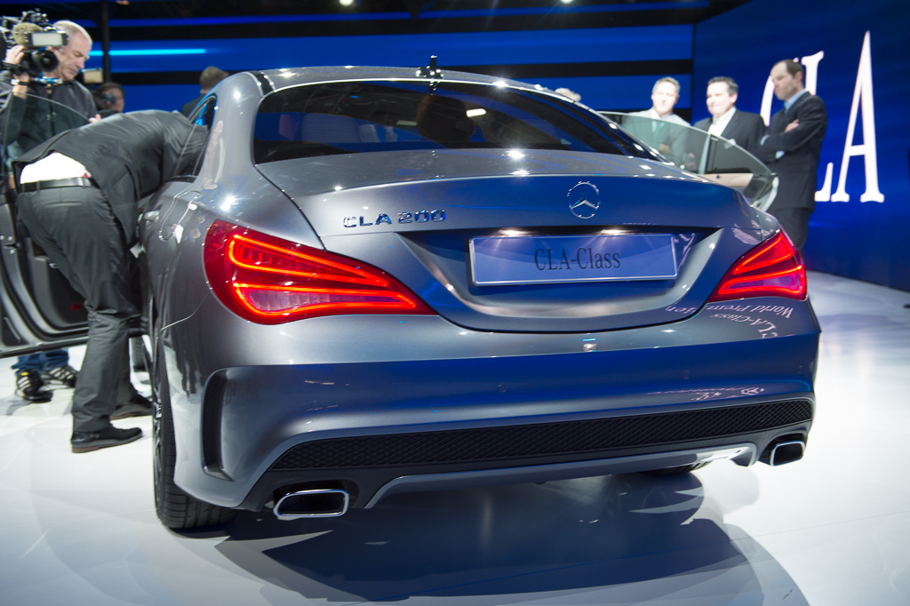 Mercedes Benz CLA Class  Exterior Rear End
