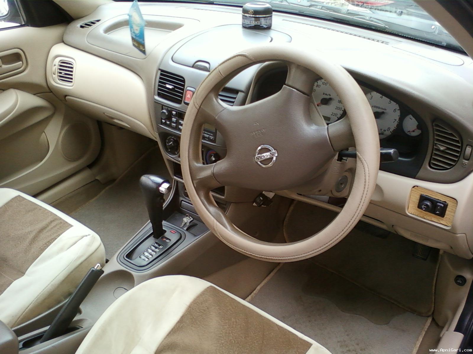 Nissan Sunny 2010 Interior Dashboard
