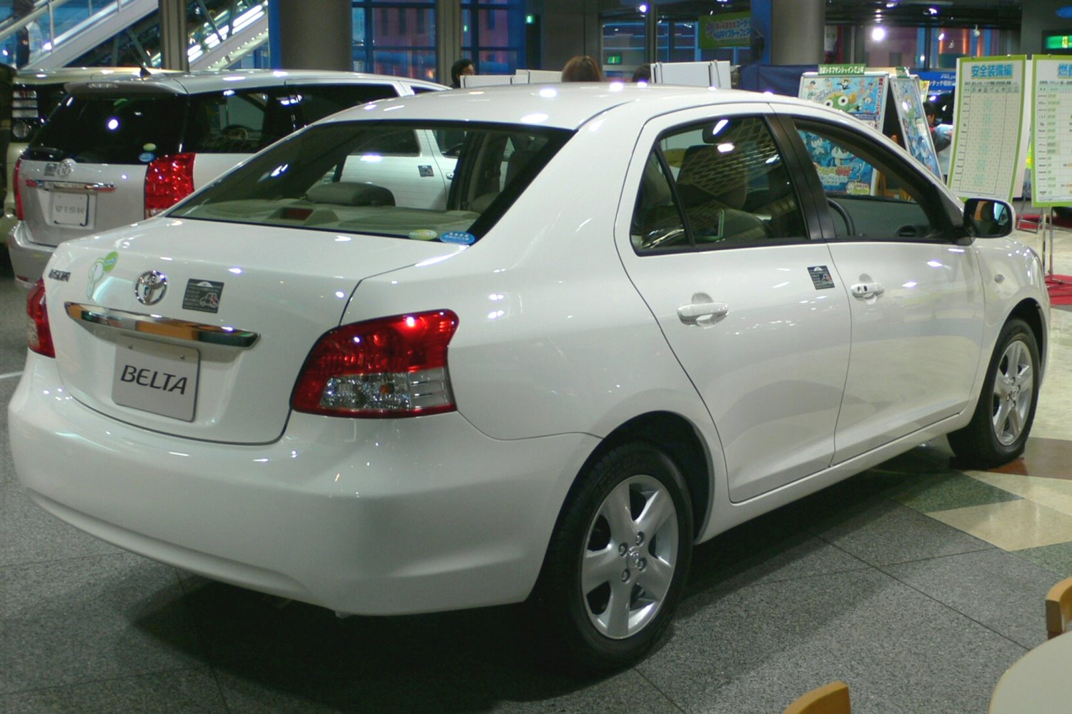 Toyota Belta 2012 Exterior Rear End