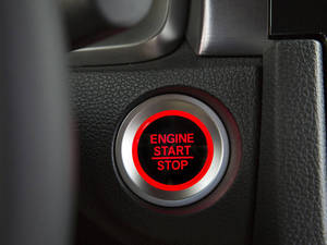 Honda Civic 2016 Interior Push Start Buttons