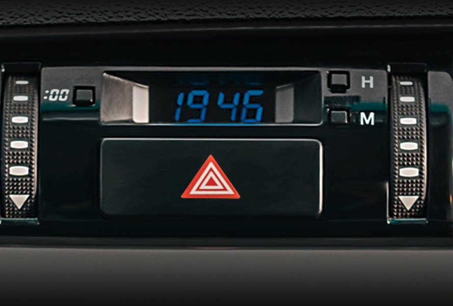 Toyota Hilux 2018 Interior Digital Clock