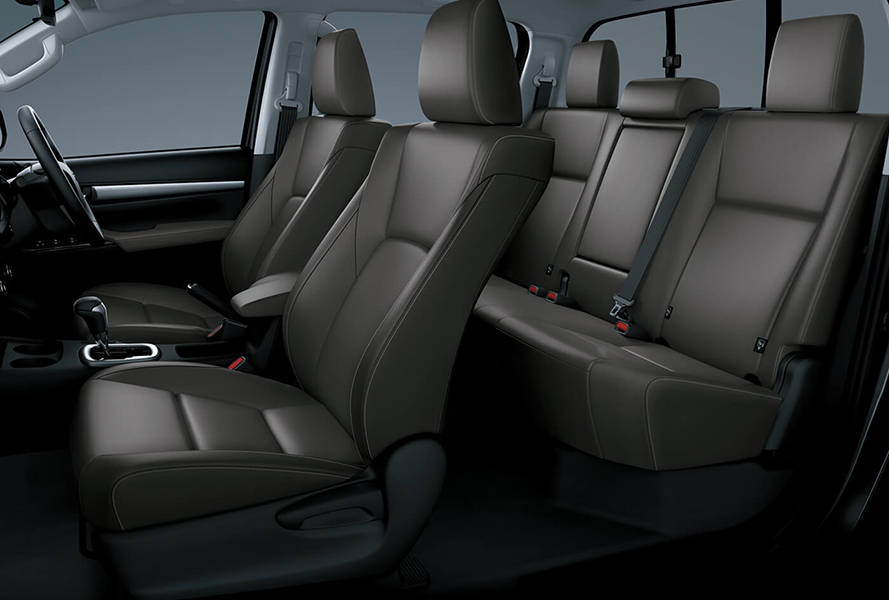Toyota Hilux 2019 Interior Comfortable Seats