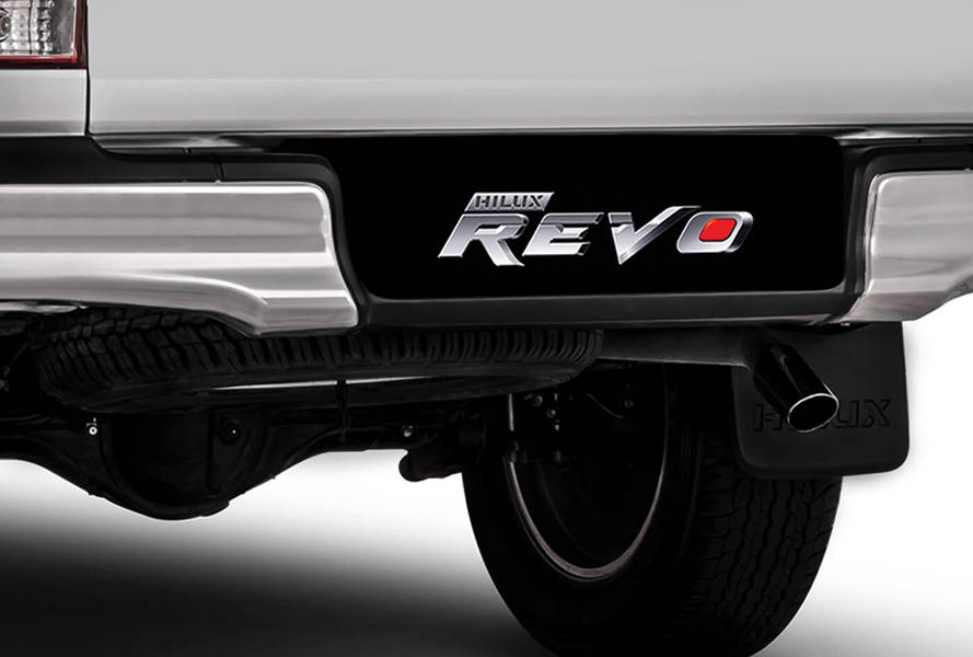 Toyota Hilux 2019 Exterior Rear Bumper Step