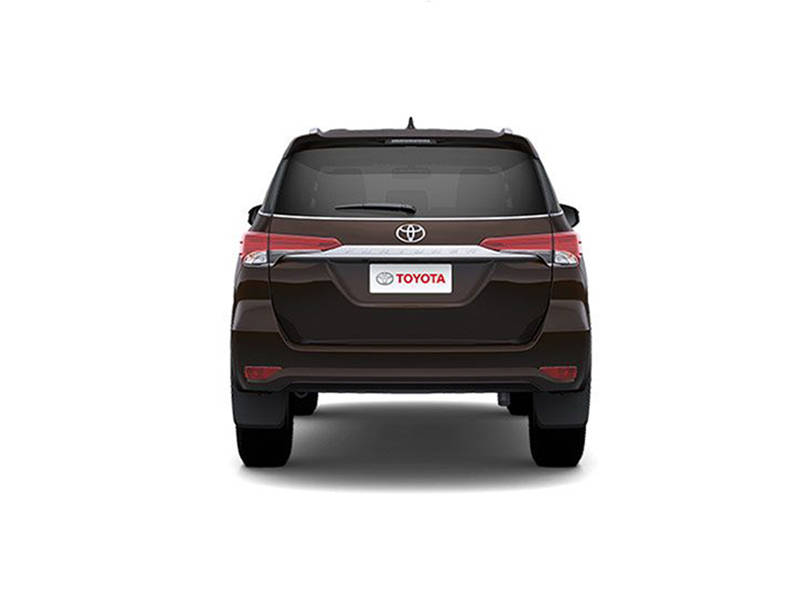 Toyota Fortuner 2019 Exterior Rear view
