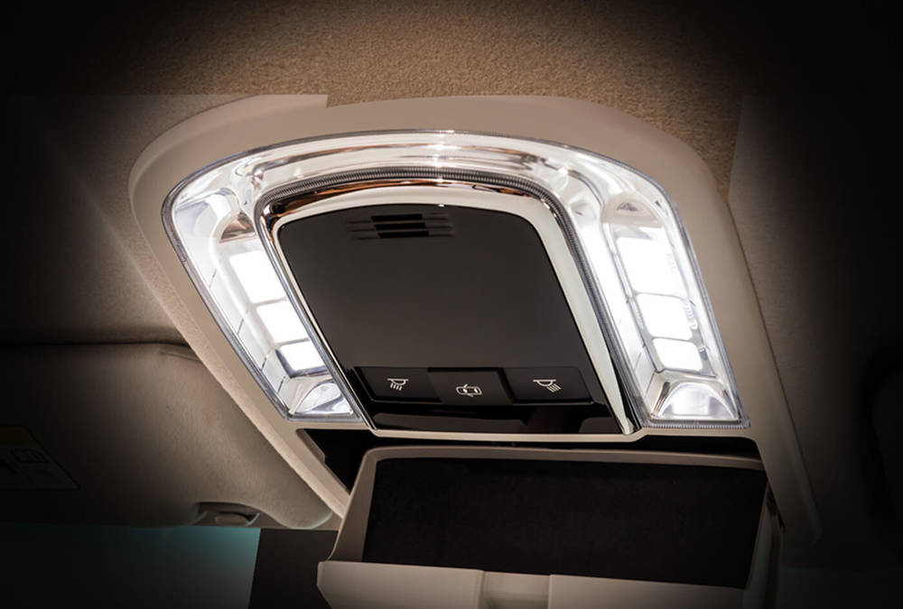 Toyota Fortuner 2019 Interior Led Lamps