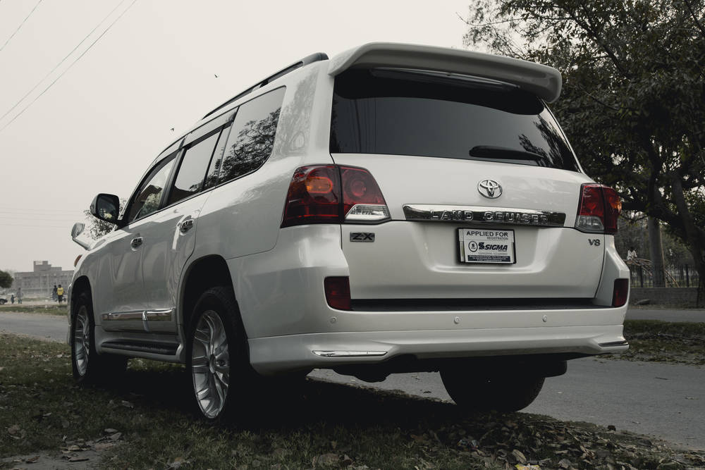 Toyota Land Cruiser 2019 Exterior Rear View