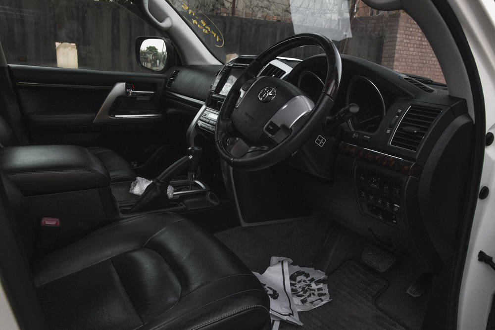 Toyota Land Cruiser 2019 Interior Dashboard