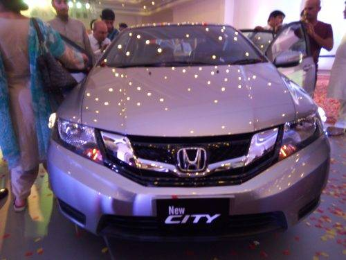 Honda City 2018 Exterior Facelift Front View