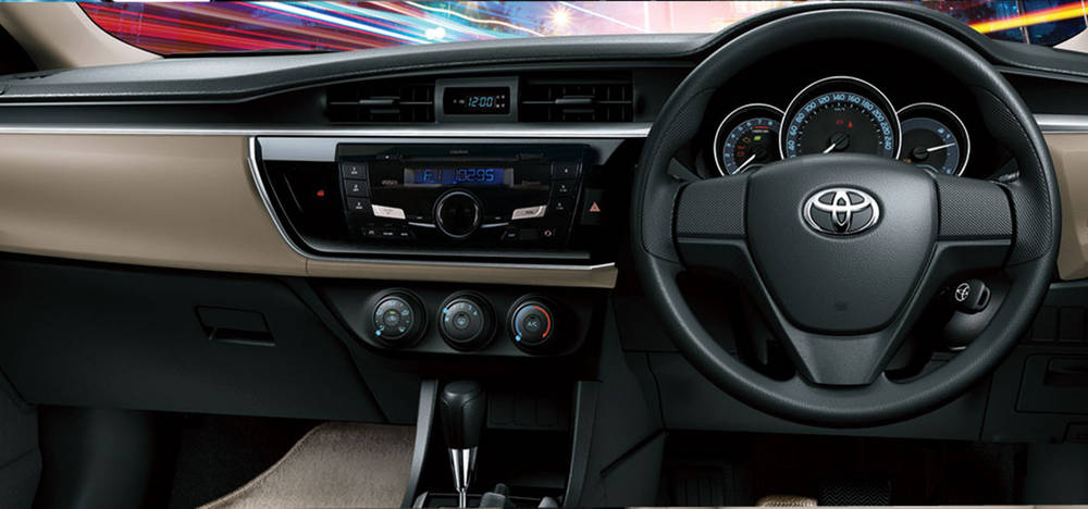 Toyota Corolla 2019 Interior Dashboard