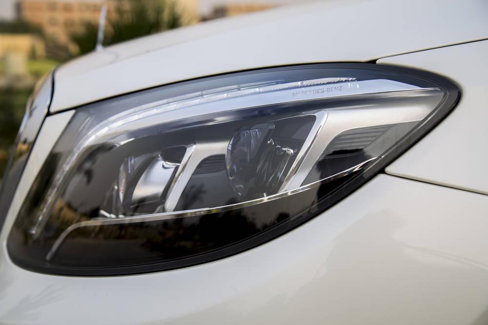 Mercedes Benz S Class 2020 Exterior Head Lamps