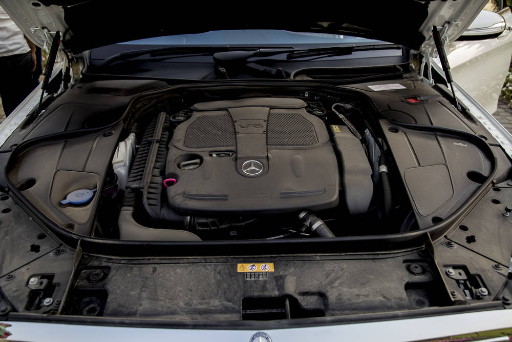 Mercedes Benz S Class 2018 Exterior Engine Bay