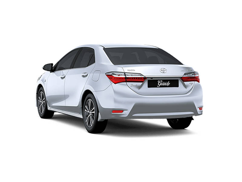 Toyota Corolla 2018 Exterior Rear View (Facelift)
