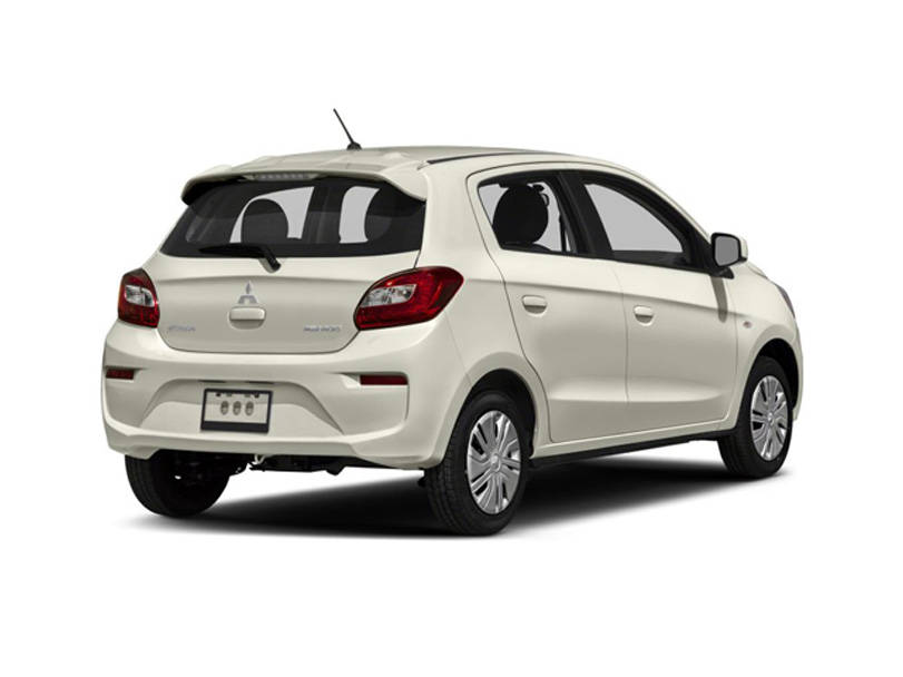 Mitsubishi Mirage  Exterior Facelifted Rear View