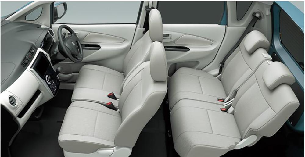 Mitsubishi Ek Wagon  Interior