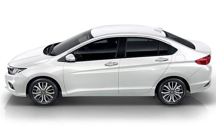 Honda City  Exterior Side Profile
