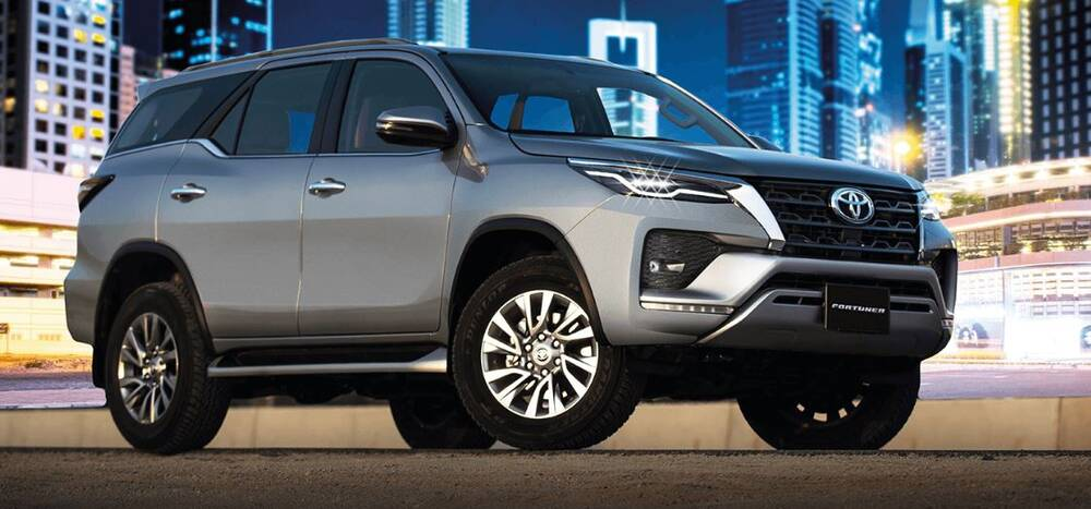 Toyota Fortuner  Front Profile