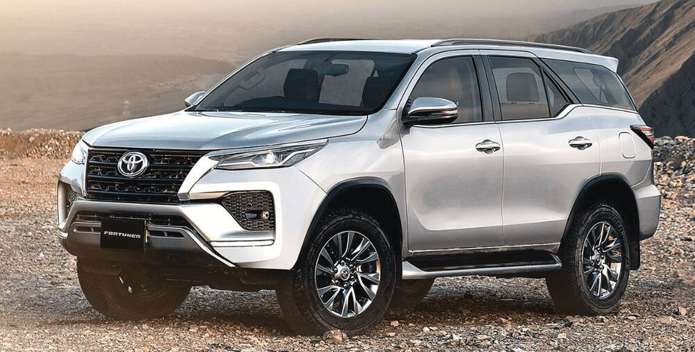 Toyota Fortuner Exterior Front Profile