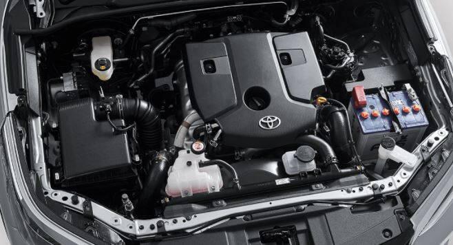 Toyota Fortuner Exterior Engine Bay