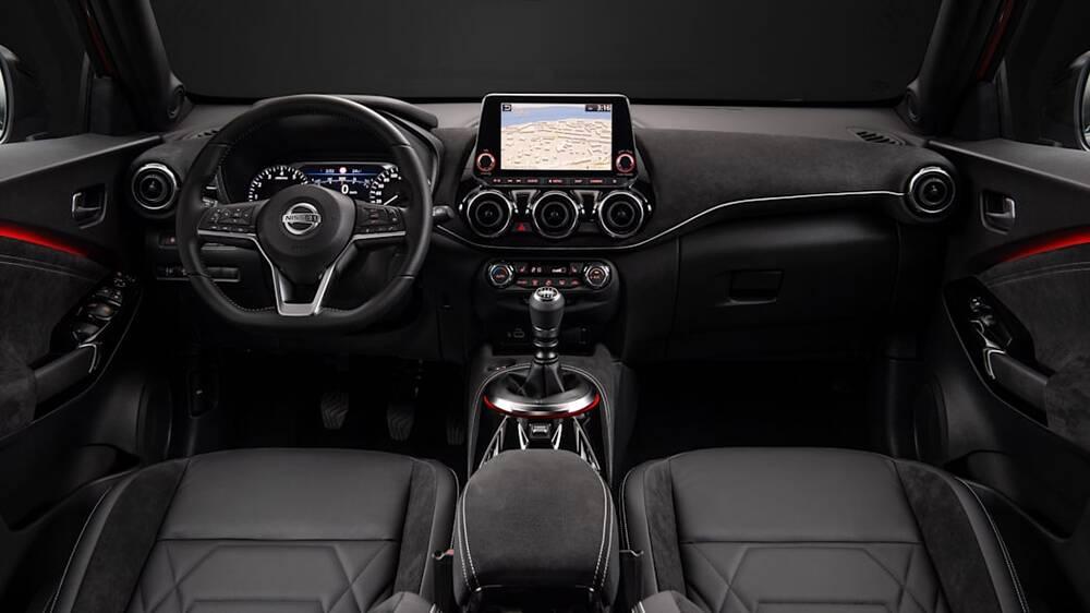 Nissan Juke Interior Dashboard