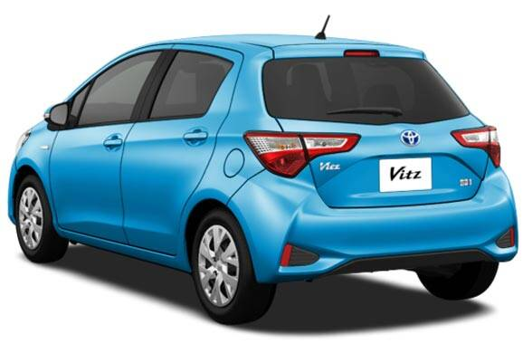 Toyota Vitz Exterior Rear Profile
