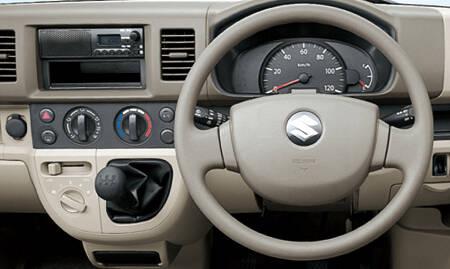 Suzuki Bolan Interior