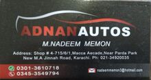 Adnan Autos - New M.A jinah road khi